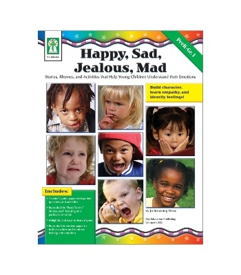 Happy, Sad, Jealous & Mad Resource Book - Each