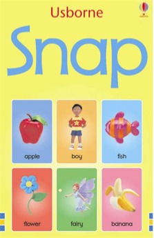 Usborne Picture Snap Cards - 3 Years + - Pack of 48