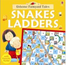 Usborne Farmyard Tales Snakes & Ladders - 3 Years +