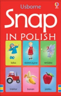 Usborne Polish Picture Snap Cards - 3 Years + - Pack of 48