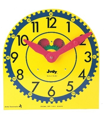 Play Clocks Class Pack - 12.5cm sq - Pack of 6