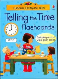 Telling The Time Flashcards - 4 Years + - Pack of 50
