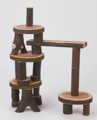 Treeblocks - Assorted - Approx 35 pieces - 3 Years+