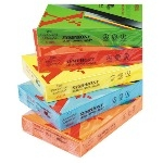 Bright A4 Copier Paper - Please Select Colour - 80gsm - Pack of 500