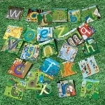 Alphabet Pathway Mats - Assorted - Pack of 26