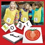 Active Alphabet Cards - Pack of 52 Double Sided Cards