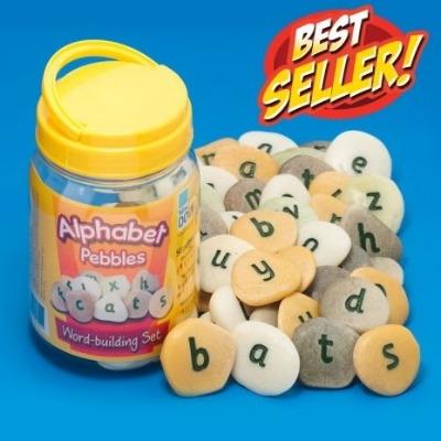 Alphabet Pebbles - Word Building - Tub of 50