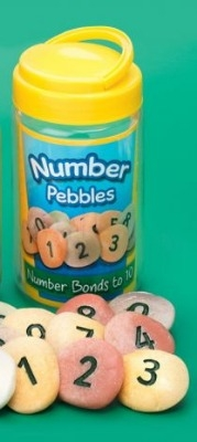 Number Stones - Assorted - Tub of 22
