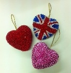 Polystyrene Hearts - 85mm - Pack of 10