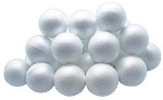 Polystyrene Balls - 7cm diameter - Pack of 10