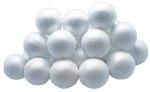 Polystyrene Balls - 7cm diameter - Pack of 10