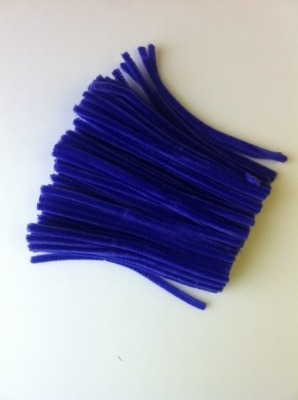 Purple Pipe Cleaners - 15cm - Pack of 100