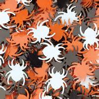 Halloween Spider Sequins - Assorted - 50g