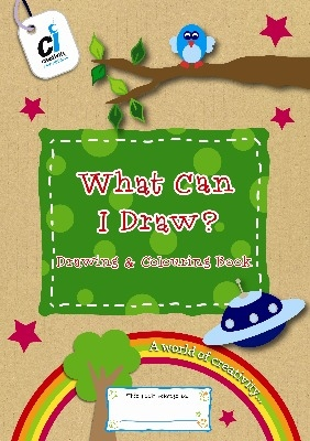 What Can I Draw - Drawing & Colouring Book - Each