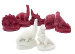Latex Moulds - Dinosaurs - Assorted - Pack of 5