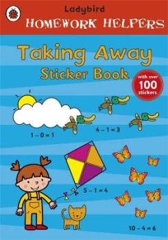 Ladybird Homework Helpers - Taking Away Sticker Book