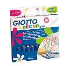 Giotto Decor Glass - Assorted - Pack of 10