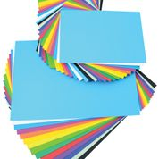 Coloured Paper Stack - Assorted - Pack of 500
