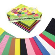 Construction Paper Combination Class Pack - 228 x 305mm - Assorted - Pack of 480