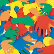 Foam Hands & Feet - Assorted - Pack of 150