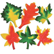 Leaves Colour Diffusing Paper - 18 x 23cm - Assorted - Pack of 80
