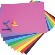 Coloured Art Paper - 50 x 70cm - Assorted - Pack of 100
