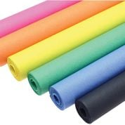 Bright Sugar Paper Rolls - 50cm x 10m - Assorted - Pack of 6