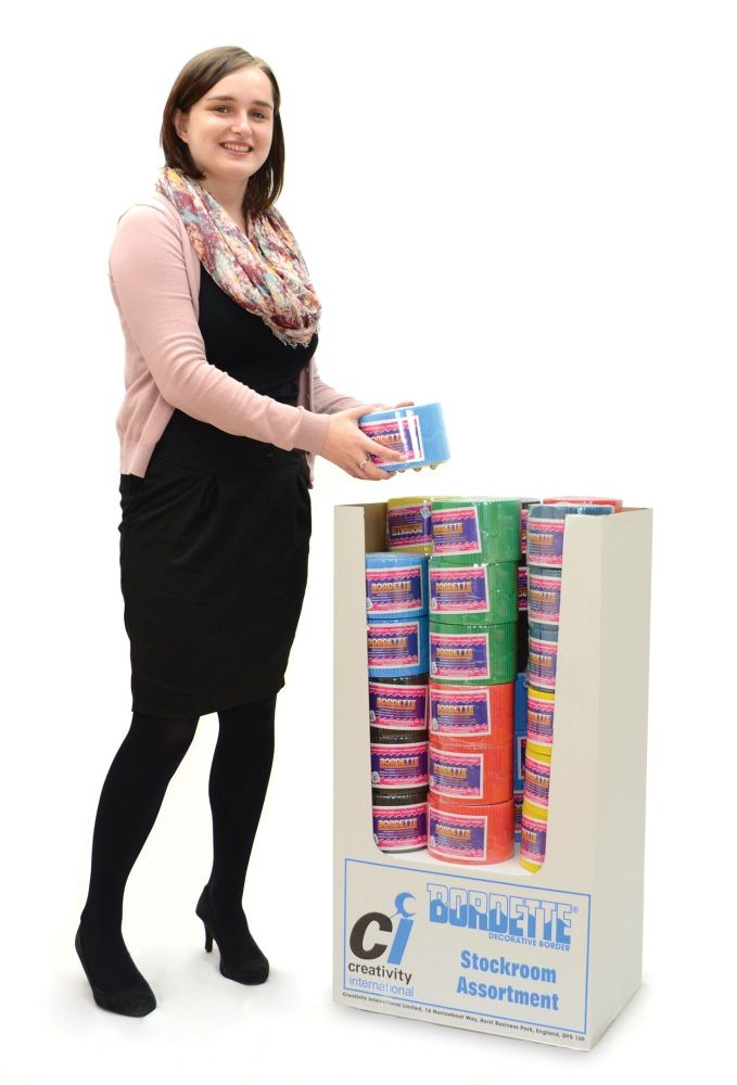 Bumper Bordette Stockroom Pack - Assorted - 6 Colours - Pack of 72