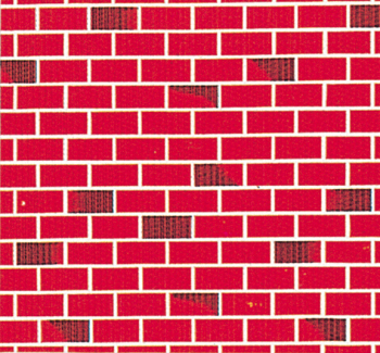 Fadeless Display Roll - Red Brick - 1218mm x 15m - Each