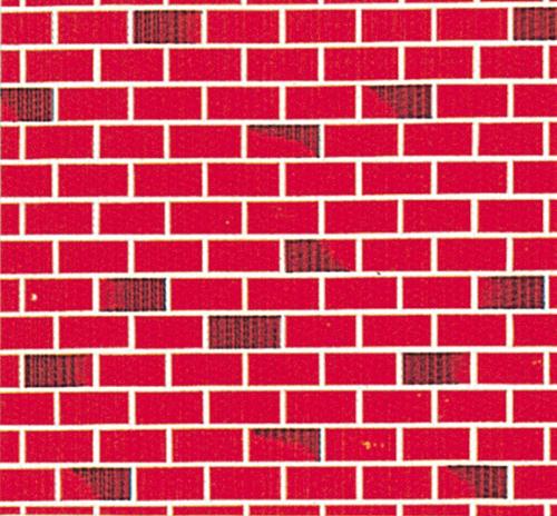 Red Brick Fadeless Display Roll - 1218 x 15m