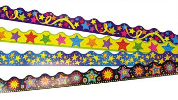 Stars Trimmer Value Pack - 4 x 12 x 1m Strips
