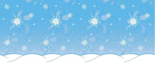 Winter Time Fadeless Display Roll - 1218mm x 15m - Each