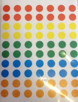 Spotty Sticker Dots - Assorted - Pack of 350