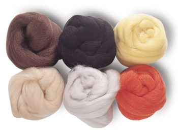 Hair Yarn - Multicultural - Assorted - Pack of 6