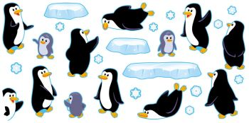 Playful Penguins Classroom Display Pack