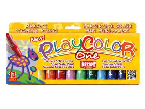 Playcolor Painting Sticks - Assorted - Pack of 12
