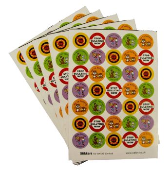 Anti-Bully Stickers - Assorted - Pack of 420