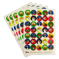 Christmas Stickers - Assorted - Pack of 420
