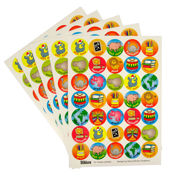 Merit & Reward Stickers - Assorted - Pack of 350