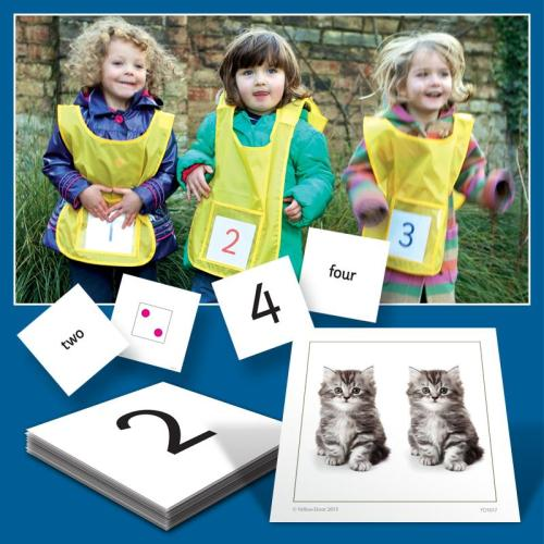 Active Numbers Cards - Assorted - Pack of 52