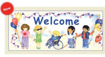 Welcome Poster - 33 x 70cm