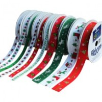 Ribbons - Christmas - 10 x 3m Assorted
