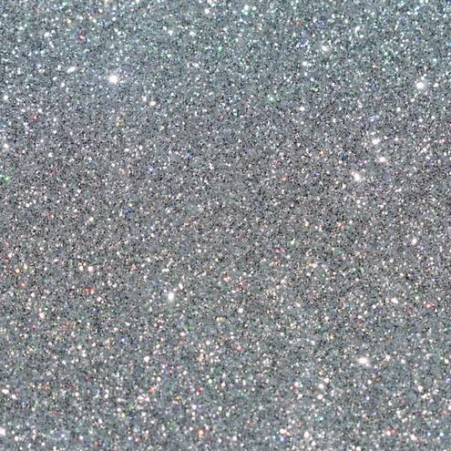 Glitter Flakes - Silver - 1kg Bag