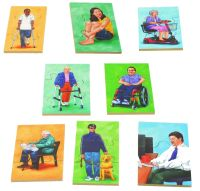 People Puzzles - Assorted - Set of 8