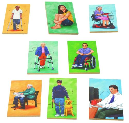 People Puzzles - Assorted - Set of 24