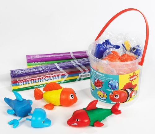 Fins N Things - Assorted - Tub of 6 sets