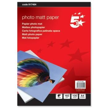 Matt Photographic Paper - A4 - 165gms - Pack of 100