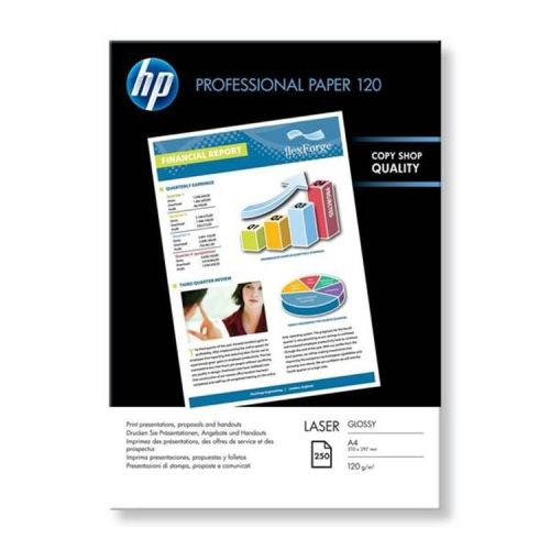 HP Pro-Laser A4 Glossy Paper - 120g - Pack of 250
