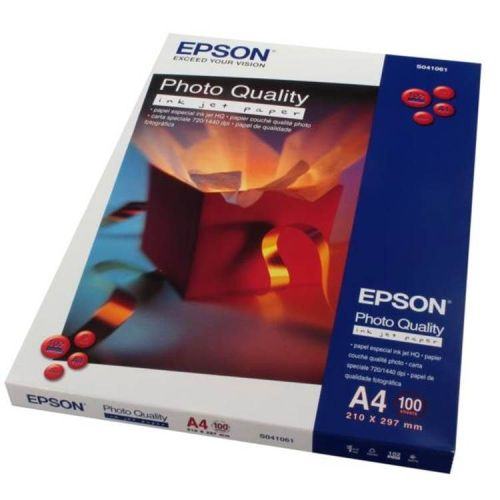 Epson Inkjet A4 Photographic Paper - 100g - Pack of 100