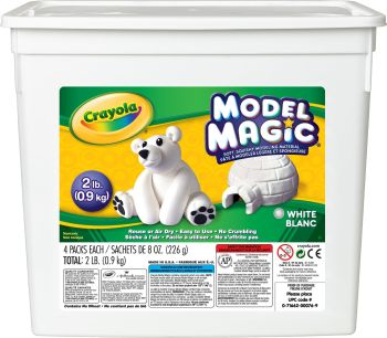 Crayola Model Magic - White - 907g Bucket - Each